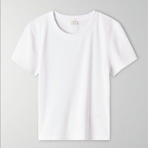 Aritzia Wilfred Go-to T-Shirt Helaine White M